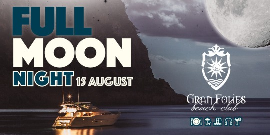 Good bye July at Beach Club Gran Folies